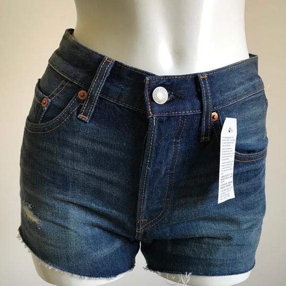 7841b002 Levi's Shorts | Nwt Women Levis 501 California Tide Jeans | Poshmark